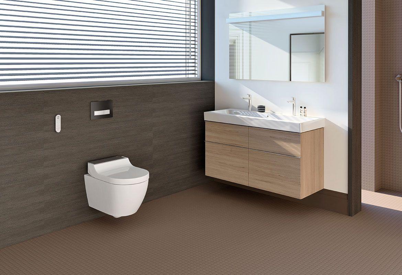 Dusch-WC-Serie AquaClean von Geberit - Ihr Sanitärinstallateur aus ...